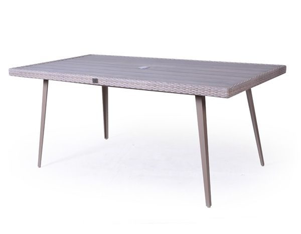 Slim Rectangular Dining Table
